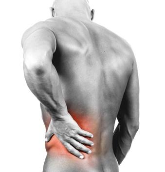 Värk vänster sida mage och rygg